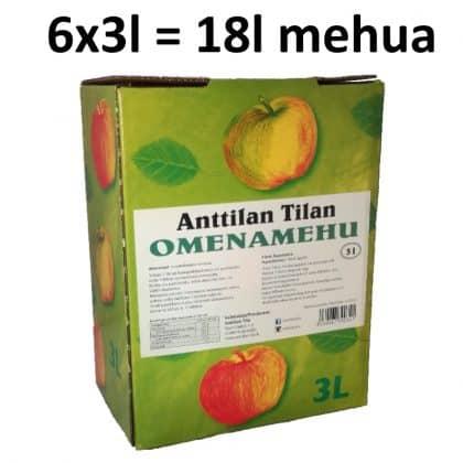 Omenamehu 6x3l